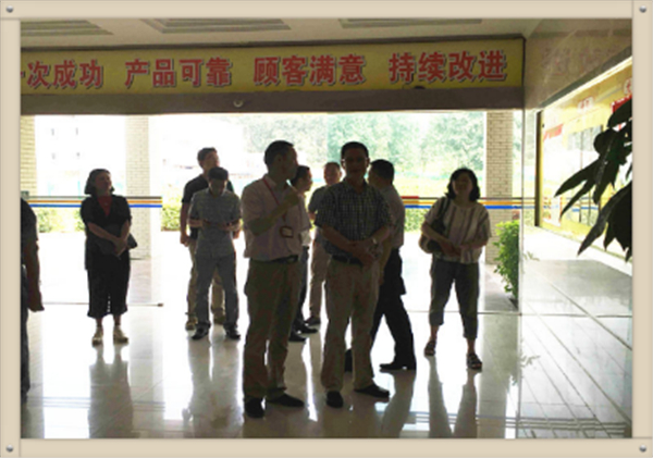 The leaders from Hanyang district visited our factory and guided the work