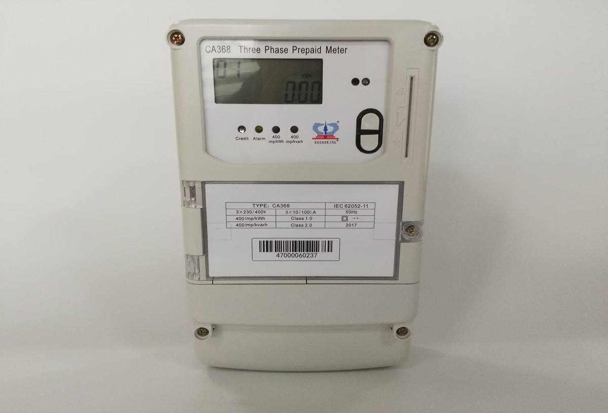 Three Phase STS IC Card Prepaid Electricity Meter